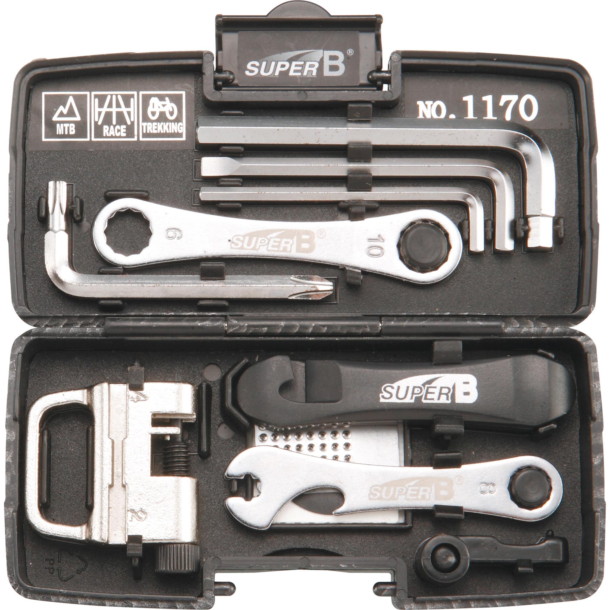 Conjunto de ferramentas SUPER B PROFESSIONNAL 15 Peças Probikeshop #756256 2048x2048